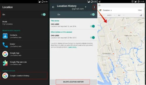 android location service