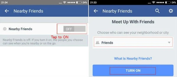 How to Find Out Nearby Friends in Facebook? | Mashtips