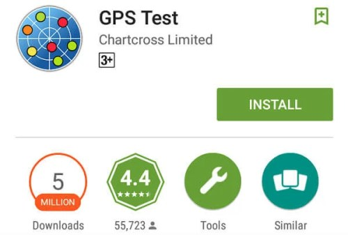 Android GPS Test App