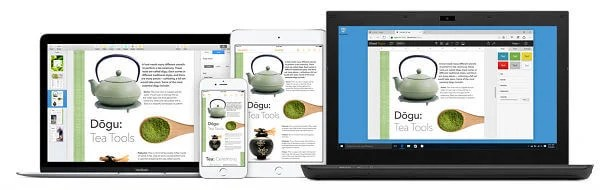 Apple iWork for iCloud