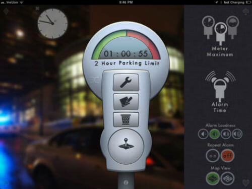 Car Locator Parking Lot Apps