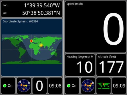 android gps map