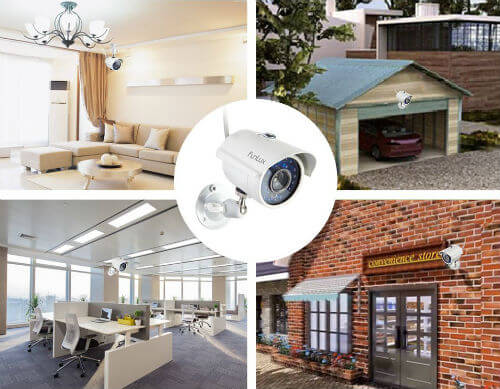 home security camera types
