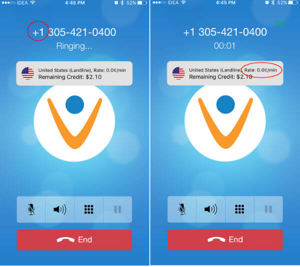 vonage free call