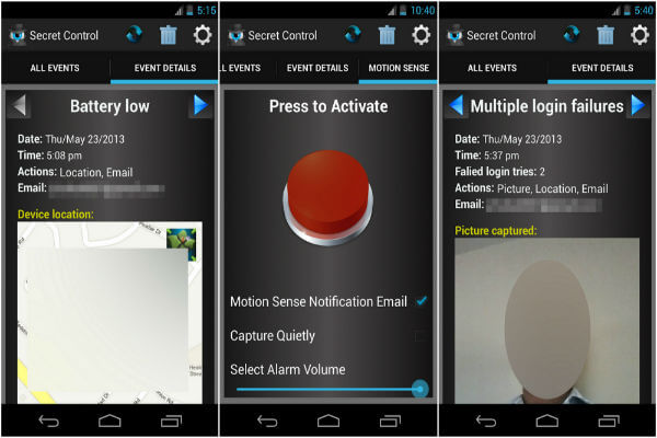 Best Android Apps to Take Intruder Snap and Send by Email