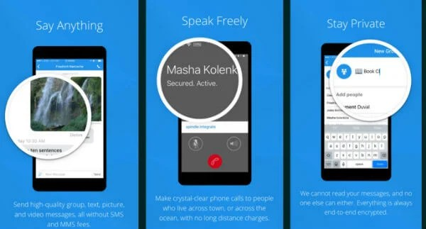 9 Best Secured Messaging Apps for iPhone users to keep Privacy