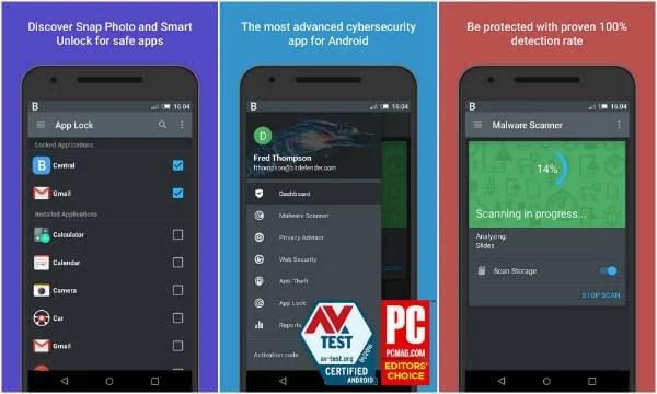 10 Best Android Antivirus & Mobile Security Apps with Anti-theft