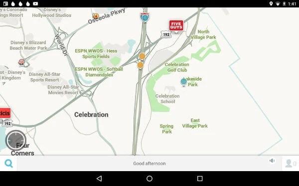 Waze Android App