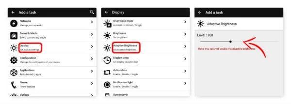 Auto Adjust Screen Brightness with NFC