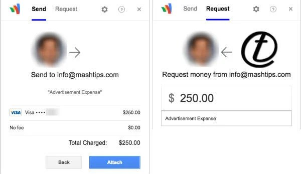 gmail money transfer recieve