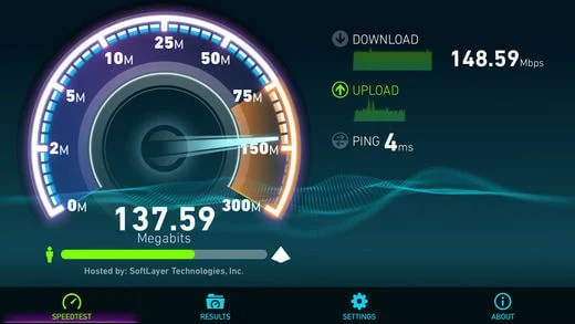 iOS WiFi Speed Tester