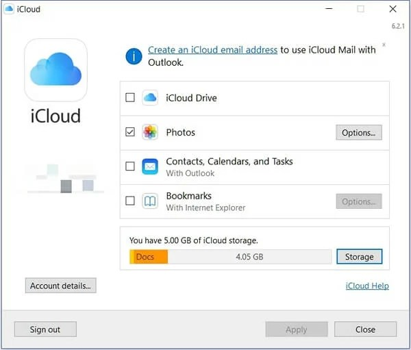 iCloud Storage Full: Transfer Photos from iCloud to Google