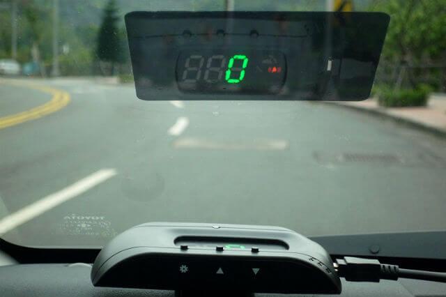 SEI GPS Head Up Display