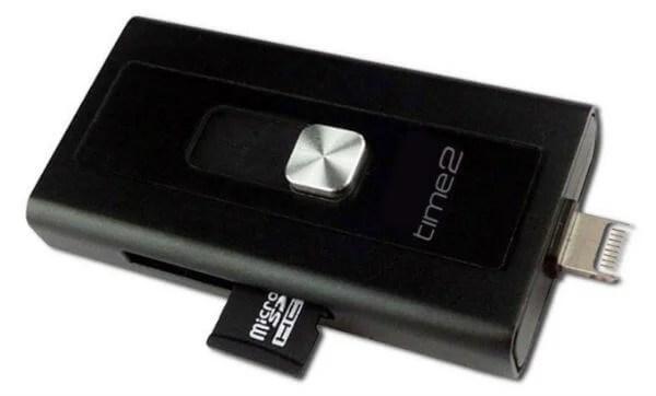 time2 USB iFlash Drive iPhone