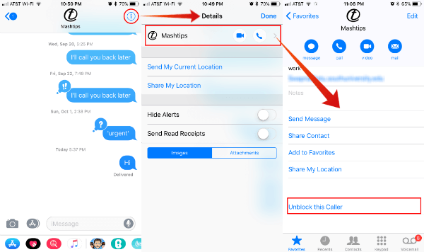 How to Block A Number on iPhone from Calls & Texts? | Mashtips