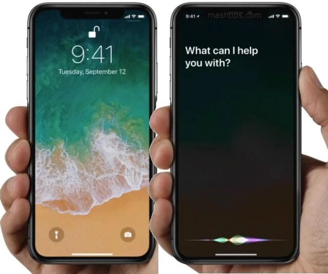 iPhone X Enable Siri