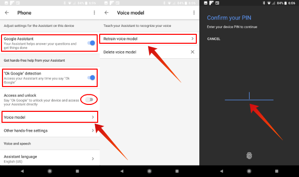 Retrain Voice Model on Android
