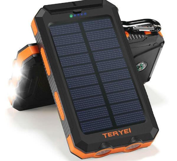 Teryei Solar Power Bank