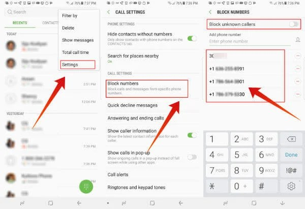 How To Block Text Messages On Samsung Phones Samsung Galaxy