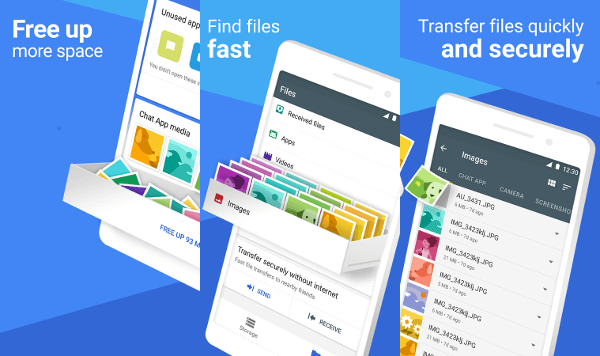 Files Go Beta: Free up space on your phone (Unreleased)
