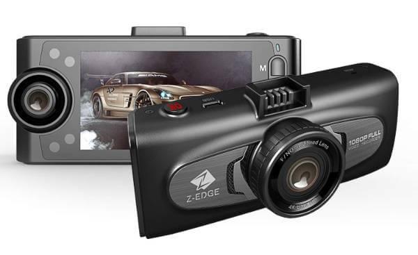 Z-Edge F1 Uber Dual Dash Cam