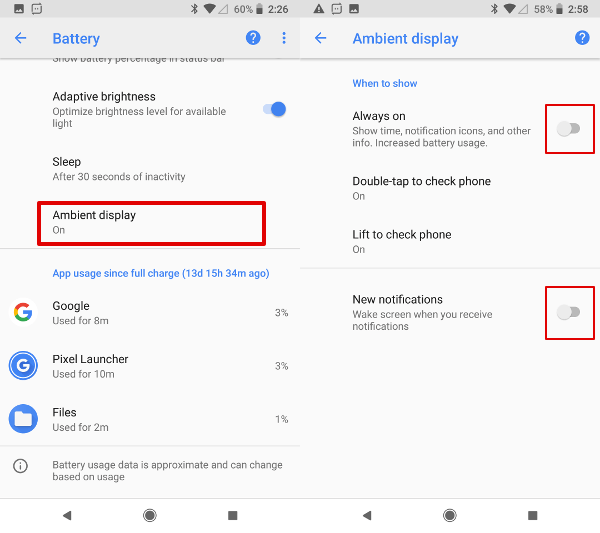 How to Stop Oreo Battery Draining and Extend Battery Life? | Mashtips