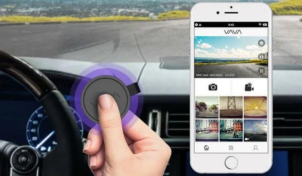 VAVA Dashcam SnapShot Button
