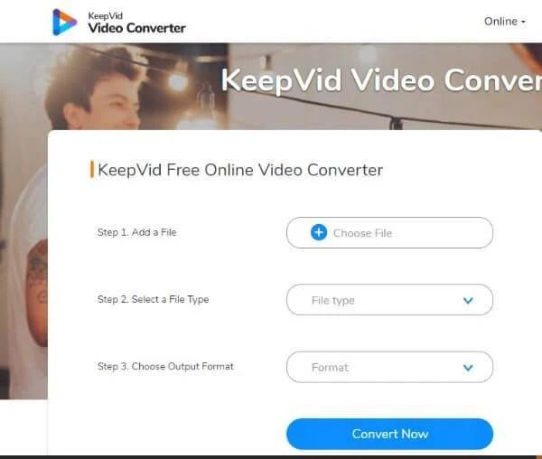 Keepvid Online Converter