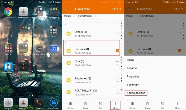 How to Create File Shortcuts on Android Devices? | Mashtips
