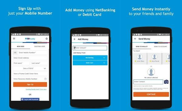 SBI Buddy - digital wallet apps