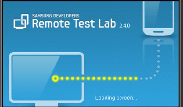 Samsung Remote Test Lab Application