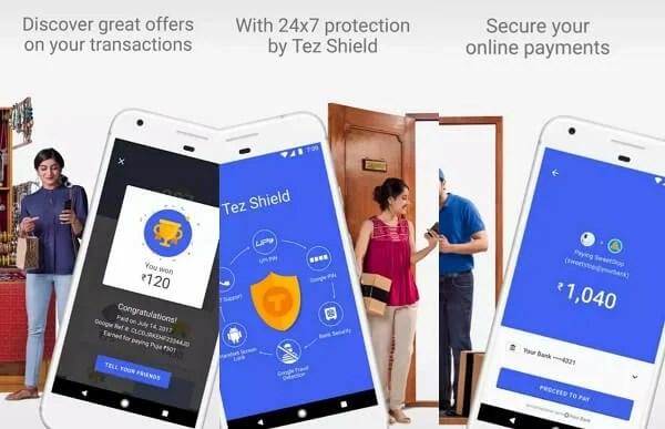 Tez - digital payment apps