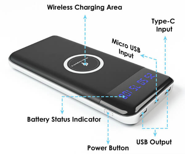 Foster Gadgets Wireless Battery Charger