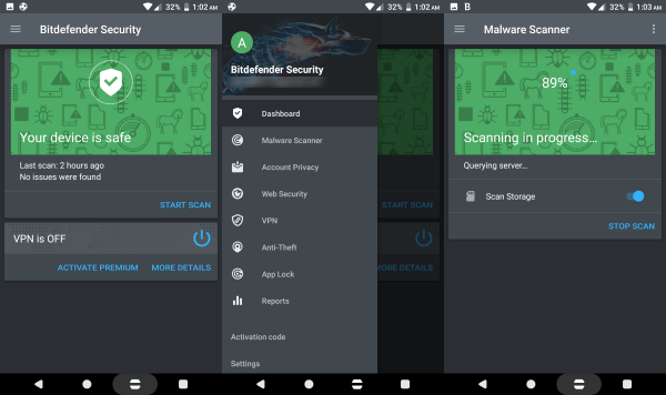 Bitdefender Total security 2018 Bitdefender Mobile Security & Antivirus