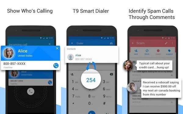 ShowCaller caller ID app