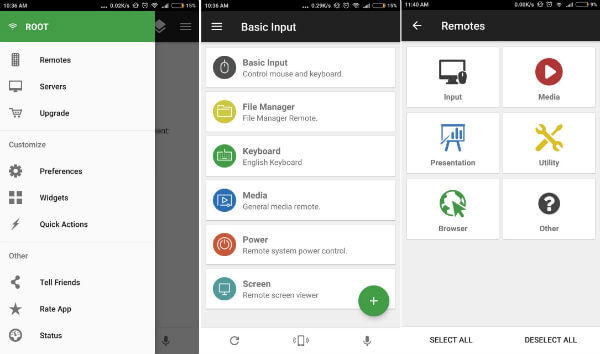How to Convert Android/iPhone into Keyboard, Mouse or