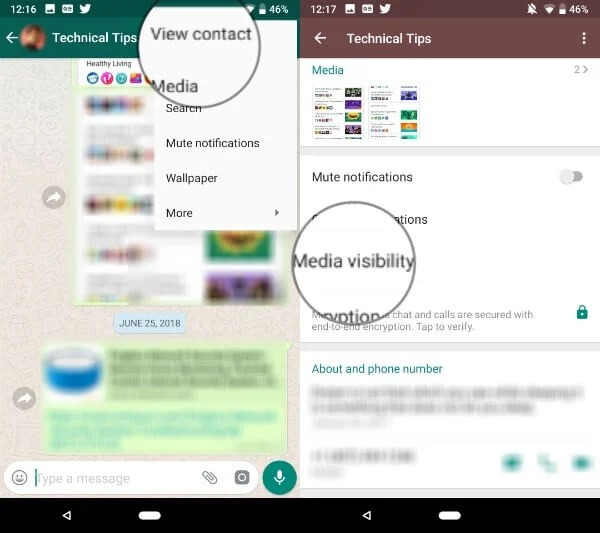 How to Stop WhatsApp Saving Photos on Android Gallery