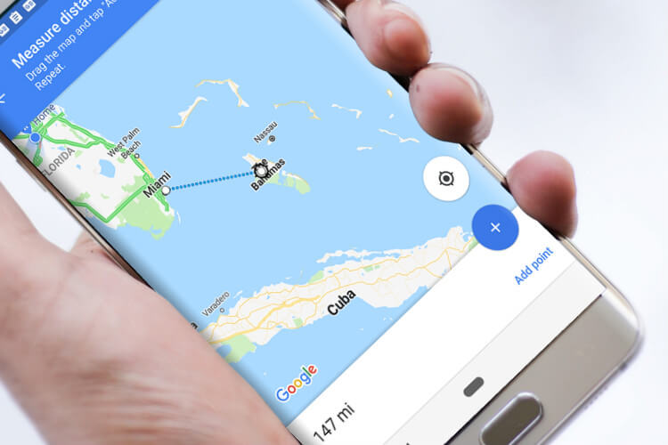 How to Measure Distance and Area with Google Map/Google