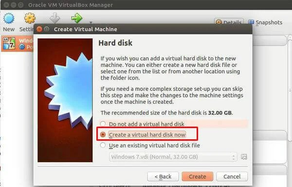 Creating Virtual Disk Linux