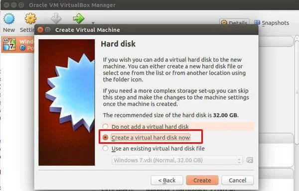 Creating Virtual Disk Linux