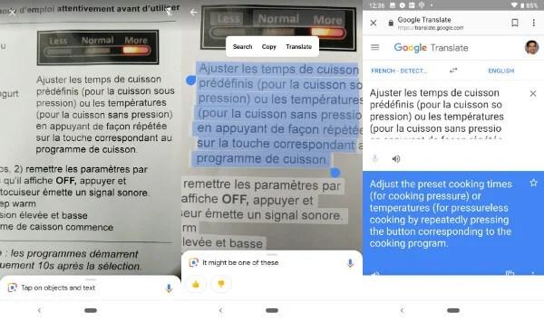 Google Lens Translate Text