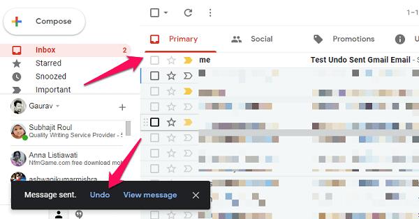 windows chrome undo sent gmail email