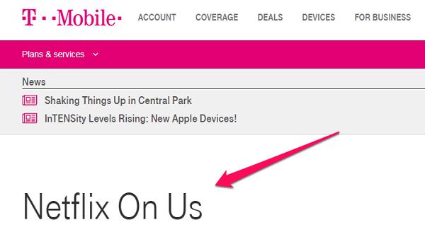 chrome netflix t-mobile