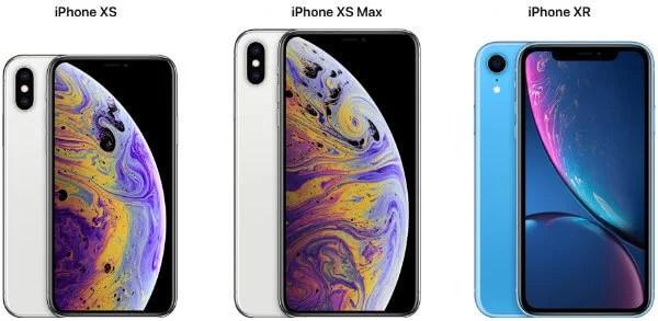 iPhone XS-Models