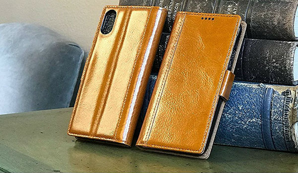 iPulse iPhone Xs Leather Case