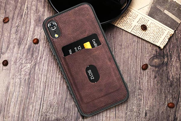 DOMAVER Leather Flip Case