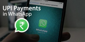UPI Payments in WhatsApp