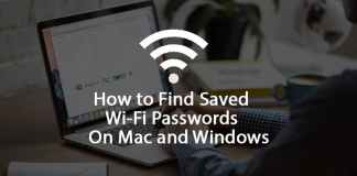 Find Saved WIFI Passwords Mac Windows