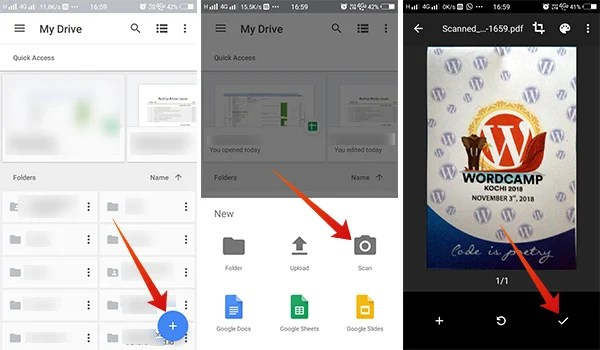 How to Scan Documents Using Google Drive on Android