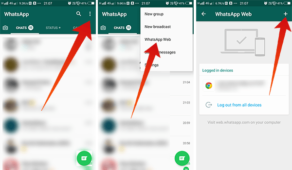How to connect WhatsApp Web to Text from your laptop